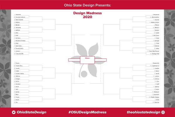 Ohio State Design Madness Bracket