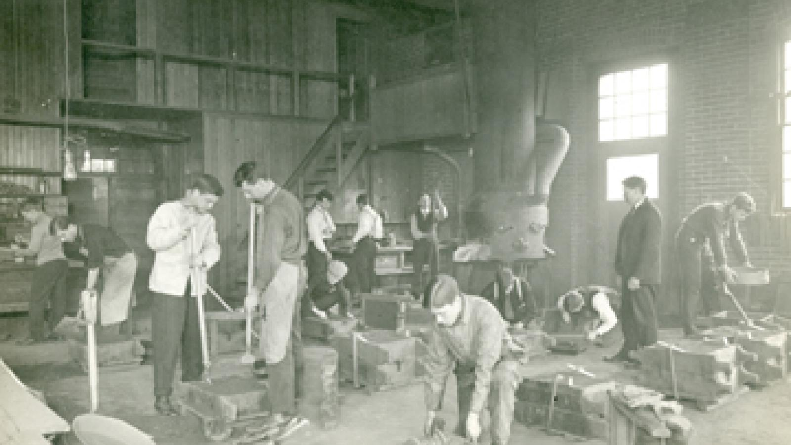 Hayes Hall Foundry - 1900