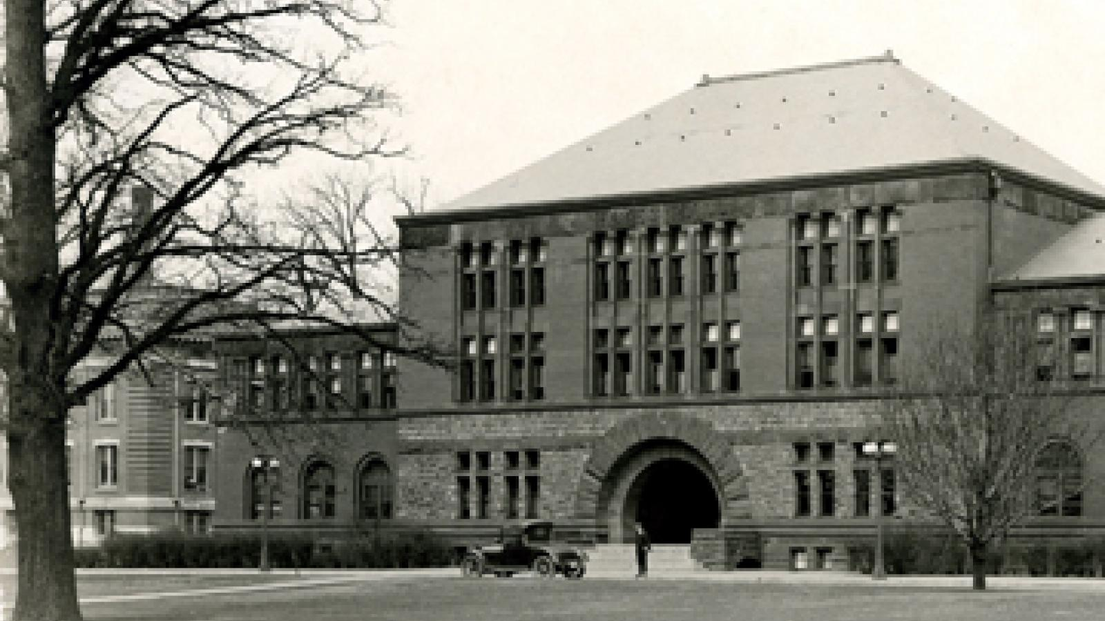 Hayes Hall - 1918